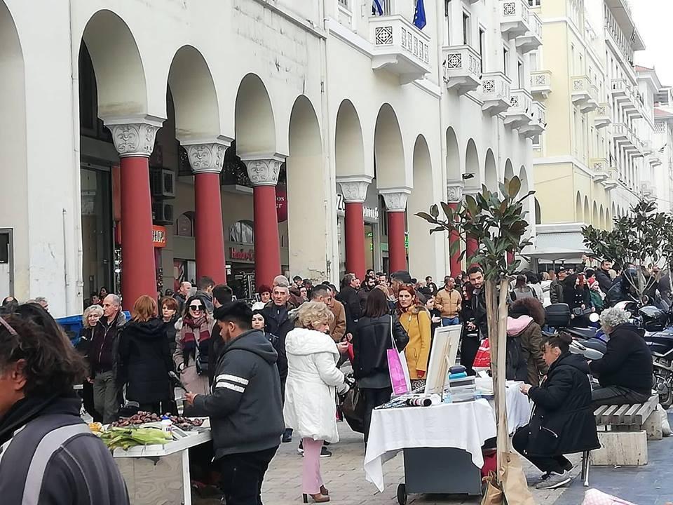 agora-kosmos5.jpg. «Πολύ καλό για την αγορά της Θεσσαλονίκης» χαρακτήρισε  το τελευταίο τριήμερο ... 6f9d7aa9db7