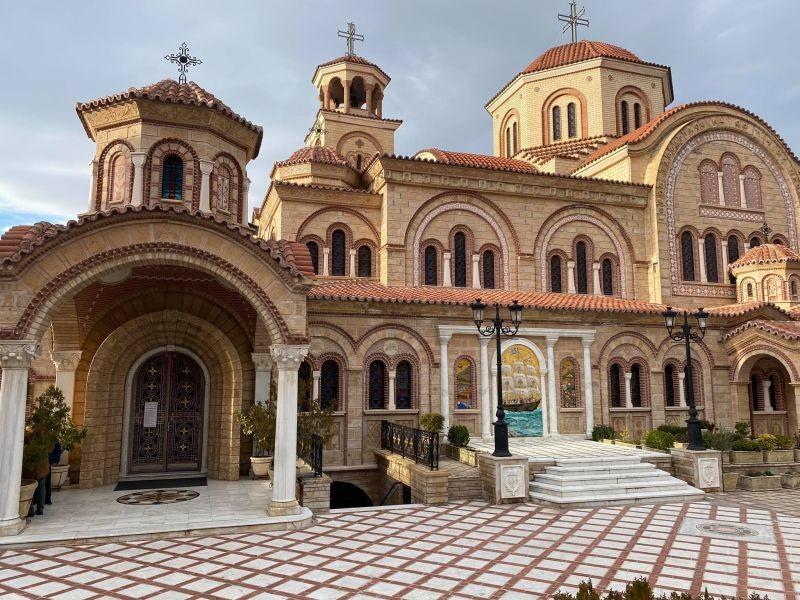 Στην Ιερά Μητρόπολη Νεαπόλεως και Σταυρουπόλεως Χαρδαλιάς- Αρκουμανέας  (Φωτ.)