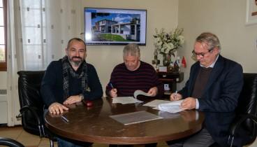 Μπήκαν οι υπογραφές για δύο έργα στο δήμο Αριστοτέλη