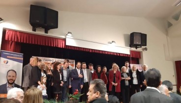 Στην προεκλογική μάχη οι πρώτοι 27 υποψήφιοι της «Γενιάς Δημιουργίας» του Γιάννη Δαρδαμανέλη