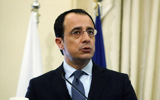 """""""Δεν υπάρχει ζήτημα αλλαγής της βάσης για επίλυση του Κυπριακού"""", δήλωσε ο Υπουργός Εξωτερικών της Κύπρου."""