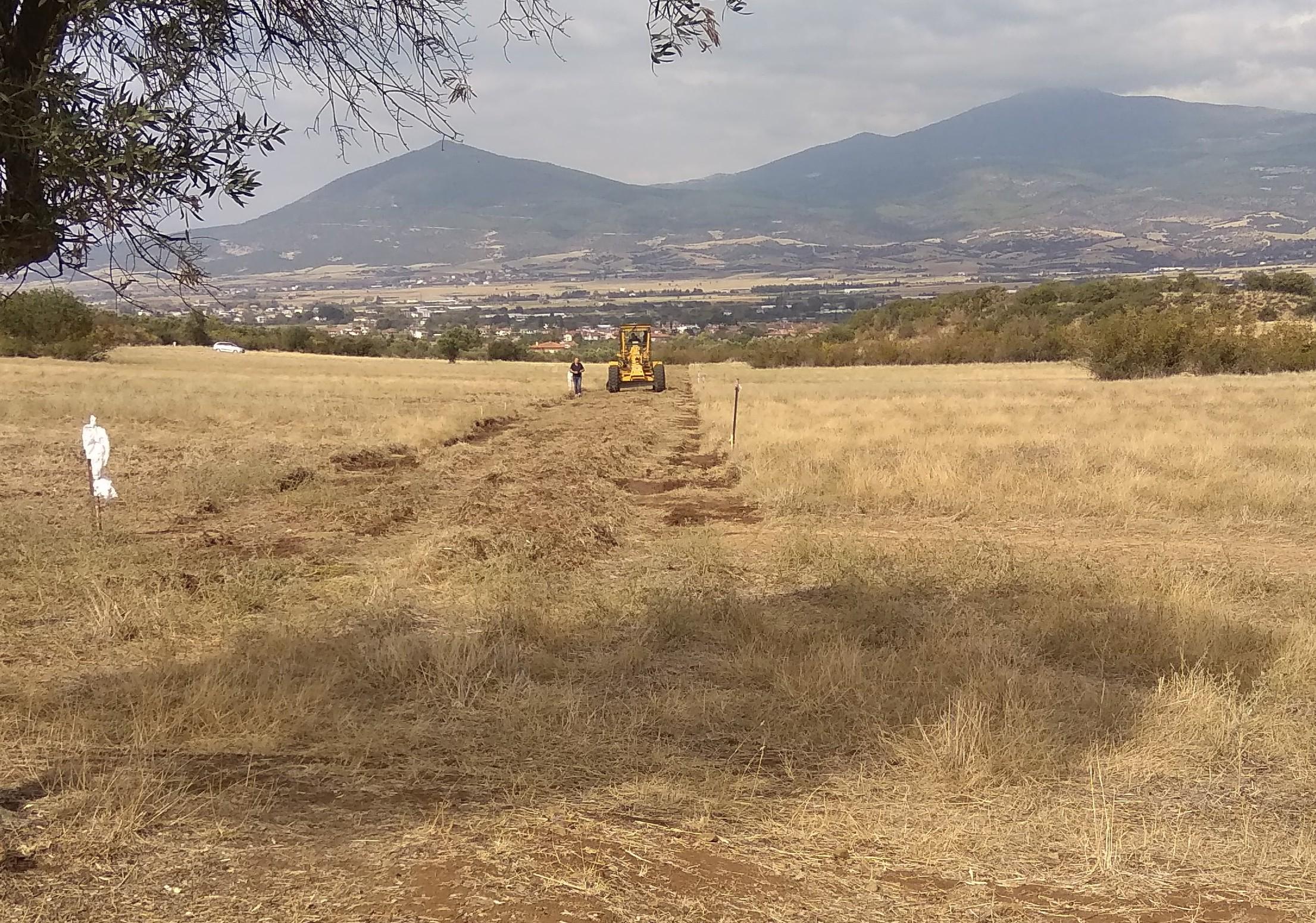 Ολοκλήρωση αγροτικής οδοποιίας αναδασμού στο Μελισσοχώρι Δήμου Θηβαίων