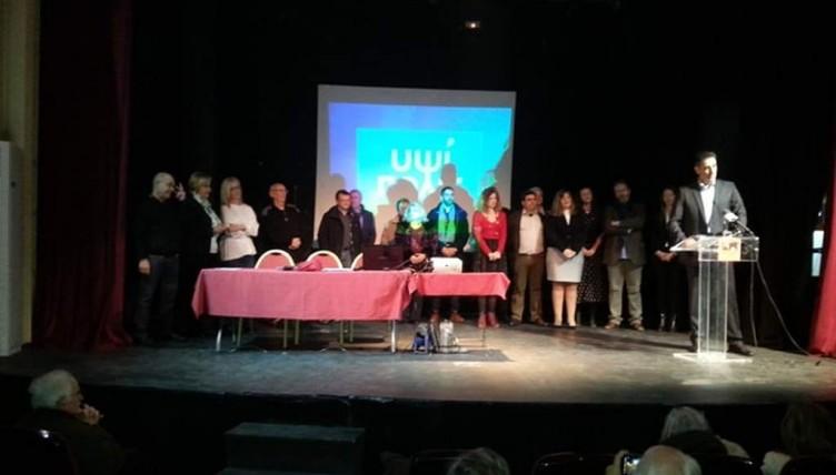 Παρουσίασε υποψήφιους δημοτικούς συμβούλους ο Γρ. Ζαρωτιάδης