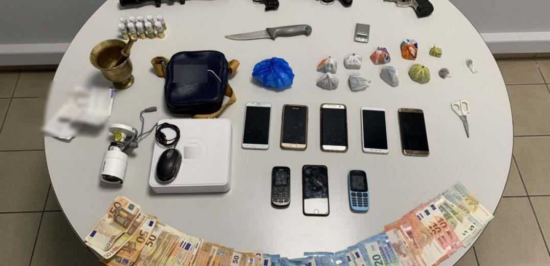 Θεσσαλονίκη: Σύλληψη επτά μελών συμμορίας για διακίνηση ναρκωτικών