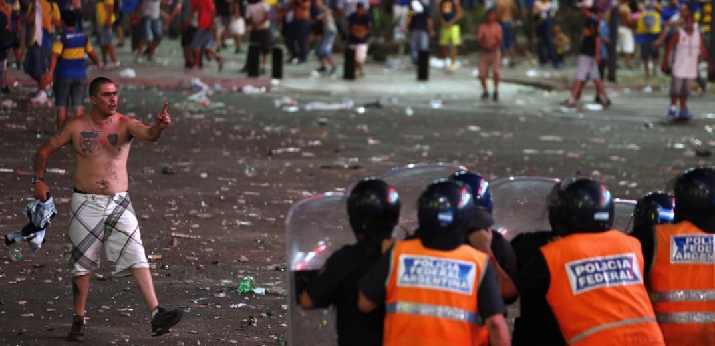 Τρόμος στους δρόμους της Μαδρίτης (video)