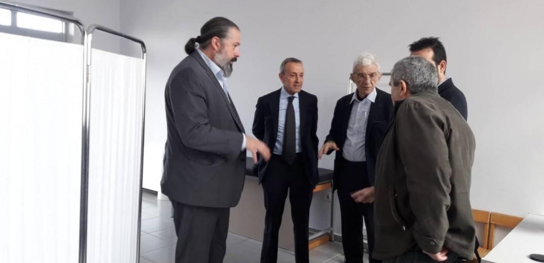 Το δημοτικό Ιατρείο Τριανδρίας επισκέφθηκε ο Γ. Μπουτάρης