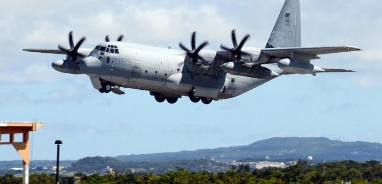 Δύο αμερικανικά στρατιωτικά αεροσκάφη συγκρούστηκαν στον αέρα