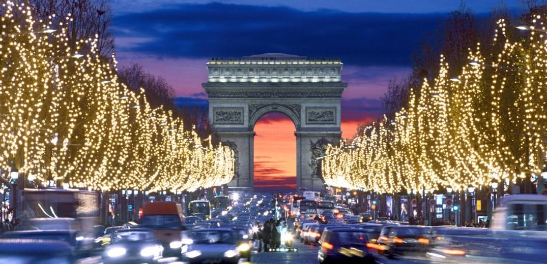 Χριστούγεννα στην πόλη του φωτός!