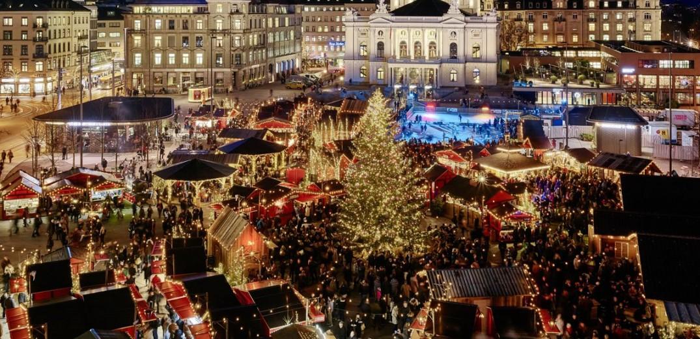 Παραμυθένια Χριστούγεννα στην Ελβετία