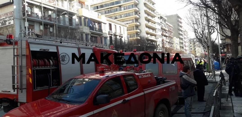 Θεσσαλονίκη: Ύποπτος φάκελος και στο Mediterranean College (video)
