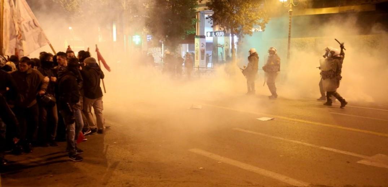 Επεισόδια και χρήση χημικών στο κέντρο της Αθήνας