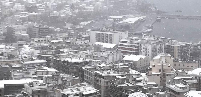 Μεγάλα προβλήματα στην Αν. Μακεδονία λόγω της σφοδρής χιονόπτωσης