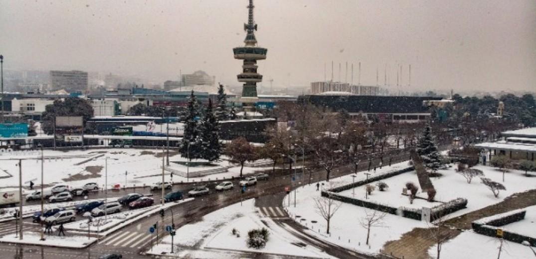 Φαινόμενο της παγωμένης βροχής σε Μακεδονία και Θεσσαλία
