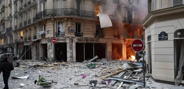 Έκρηξη στο Παρίσι-Τουλάχιστον 20 τραυματίες (βίντεο)