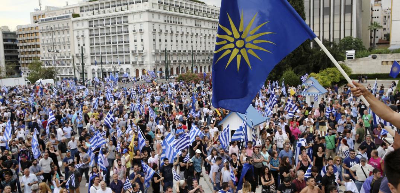 Ορίστηκε συλλαλητήριο για τη Μακεδονία