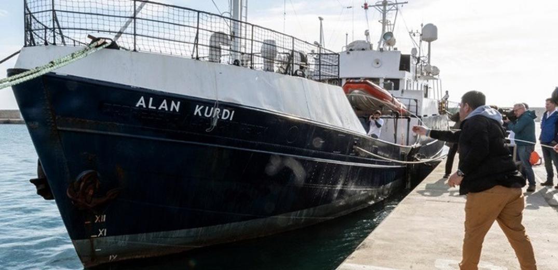 Το όνομα του Αϊλάν δόθηκε σε πλοίο