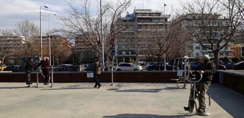 Δύο νέα υπαίθρια γυμναστήρια θα λειτουργήσουν στη Θεσσαλονίκη