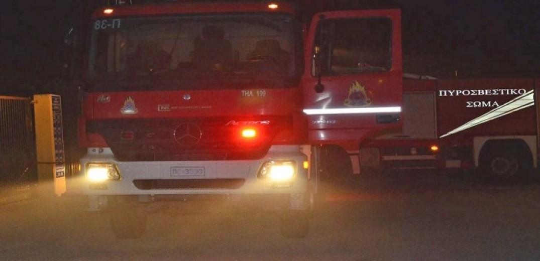 Πυρκαγιά σε πολυκατοικία στις Σέρρες-Έξι άτομα προληπτικά στο νοσοκομείο