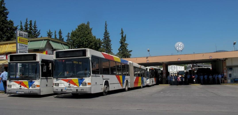 Επίθεση σε λεωφορείο του ΟΑΣΘ