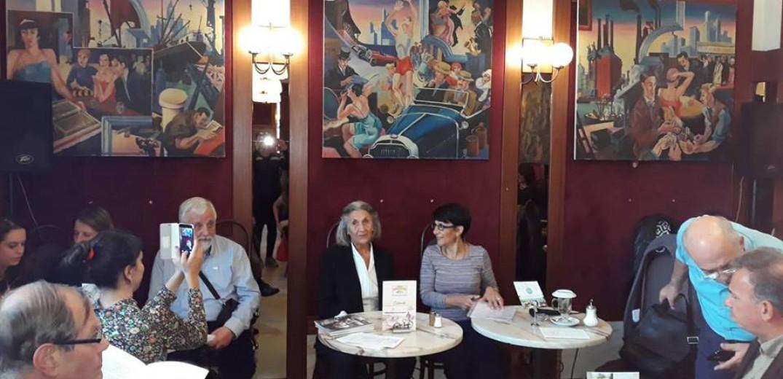 Για τα μυστικά της συγγραφής μίλησε η Μάρω Δούκα στην Φρανκφούρτη-Το makthes.gr ήταν εκεί