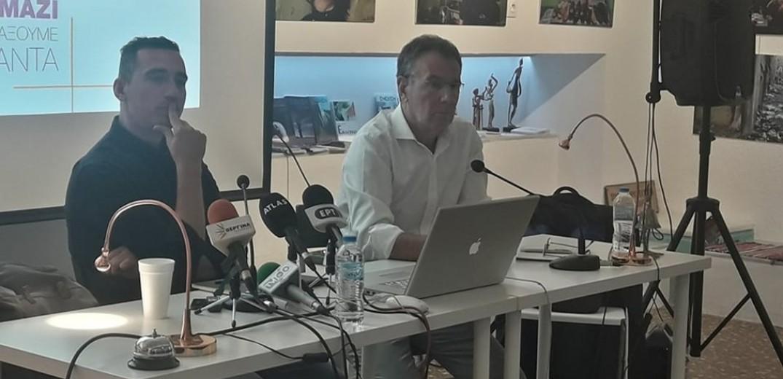 Δίδυμη… υποψηφιότητα στο δήμο Θεσσαλονίκης (Video-photos)