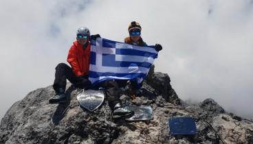 Οι πρώτες Ελληνίδες που πάτησαν στην ψηλότερη κορυφή της Ωκεανίας