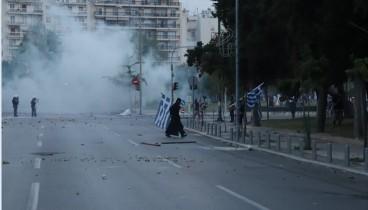 Συλλήψεις, τραυματισμοί και ζημιές από τα επεισόδια στη Θεσσαλονίκη