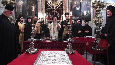 Βαρθολομαίος: Αγωνιζόμαστε για την ενότητα και την ευστάθεια της Ορθοδοξίας