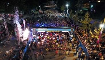 Τρέχοντας βράδυ στη Θεσσαλονίκη