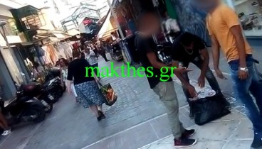 Οργιάζει το παρεμπόριο τσιγάρων στην καρδιά της Θεσσαλονίκης (φωτ.)