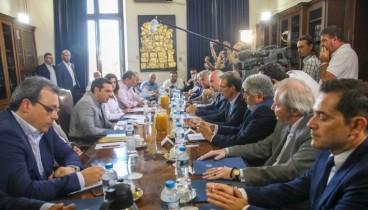 Ραγδαία ανάπτυξη της Θεσσαλονίκης με την επίλυση του «Μακεδονικού» βλέπει ο Αλ. Τσίπρας