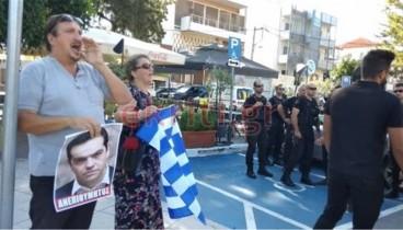 Ένταση πριν από την επίσκεψη Τσίπρα στα Χανιά