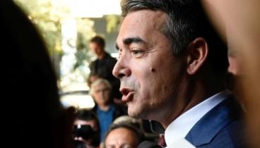 N. Nτιμιτρόφ: Η ελληνική κυβέρνηση παραμένει αφοσιωμένη στη Συμφωνία των Πρεσπών