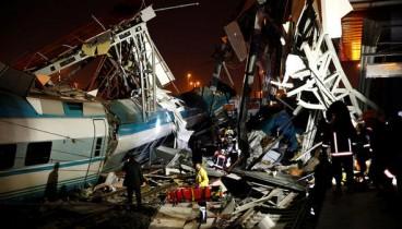 Σιδηροδρομικό δυστύχημα στην Τουρκία