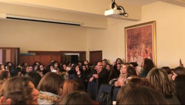 Θεσσαλονίκη: Φοιτητές του ΤΕΙ διαμαρτύρονται για τη συγχώνευση με το Πανεπιστήμιο