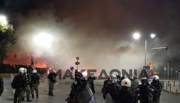 Έληξαν τα επεισόδια στη Θεσσαλονίκη