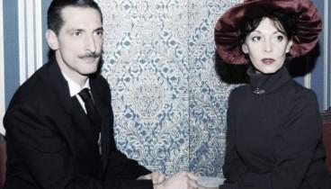 """Ο έρωτας της Πηνελόπης Δέλτα και του Ίωνα Δραγούμη επί σκηνής στο έργο """"Τελευταία Συνάντηση"""""""