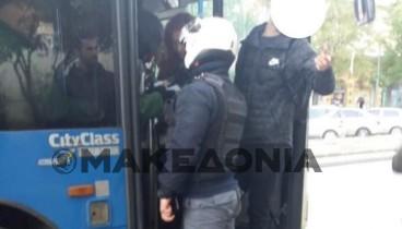 Θεσσαλονίκη: Aκινητοποιήθηκε λεωφορείο του ΟΑΣΘ λόγω κλοπής