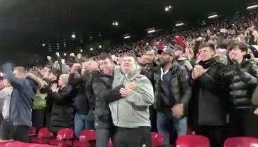 Ο Μάικ Κέρνι δεν είδε το γκολ του Σαλάχ, αλλά το χάρηκε με την ψυχή του (video)