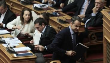 Πιγκ πογκ ανακοινώσεων Μαξίμου - ΝΔ στον απόηχο της χθεσινής κόντρας Τσίπρα- Μητσοτάκη στη Βουλή
