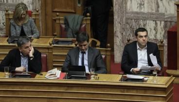 Βουλή: Ξεκίνησε στην ολομέλεια, παρουσία του Αλ. Τσίπρα, η συζήτηση του Προϋπολογισμού