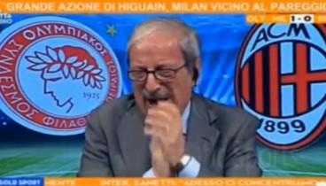 Ο Τιτσιάνο Κρουντέλι το πήρε κατάκαρδα (video)