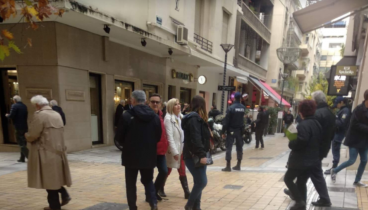 Ληστεία στο κατάστημα της Rolex στην Αθήνα