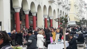 Ανοιχτά σήμερα τα καταστήματα στη Θεσσαλονίκη