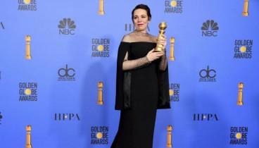 Χρυσές Σφαίρες: Βραβείο Α' Γυναικείου Ρόλου στην Ολίβια Κόλμαν για το «The Favourite» του Λάνθιμου