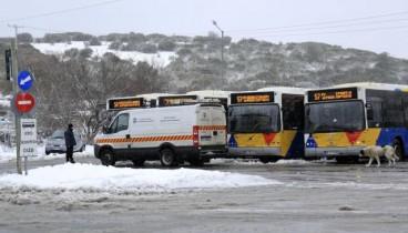 Ομαλοποιείται η κυκλοφορία των οχημάτων του ΟΑΣΘ (φωτογραφία)