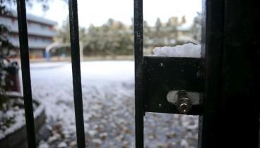 Κλειστά και αύριο όλα τα σχολεία στη Θεσσαλονίκη