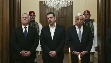 Ορκίστηκε υπουργός Άμυνας ο Ευάγγελος Αποστολάκης