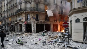 Τέσσερις οι νεκροί από την έκρηξη στη Γαλλία