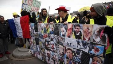 """""""Κίτρινα Γιλέκα"""": Ραντεβού στο Παρίσι για δέκατο σαββατοκύριακο διαδηλώσεων διαμαρτυρίας"""